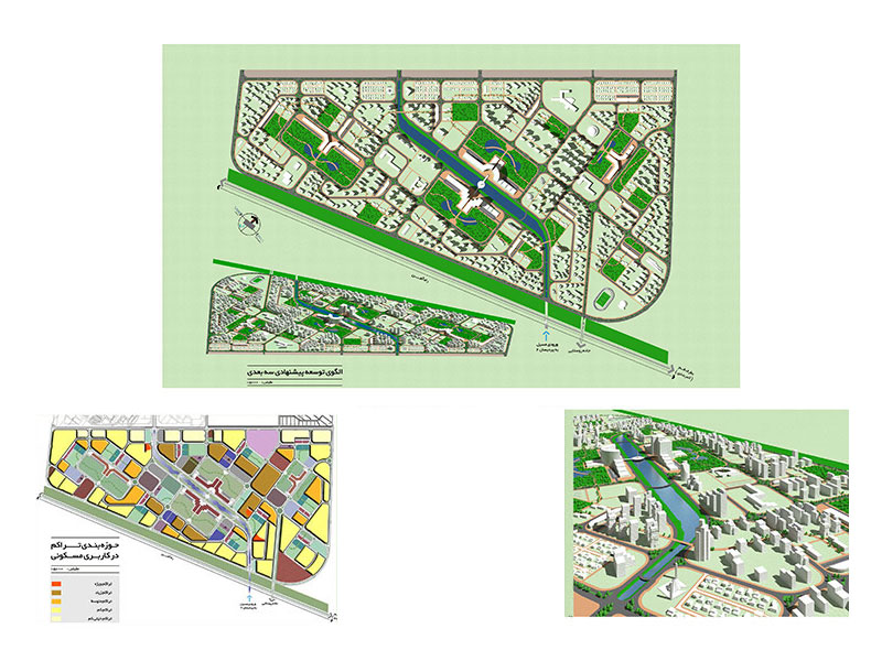 ◘• Urban Design Competition, 2nd Prize